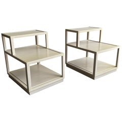 Edward Wormley for Dunbar Tiered End Tables
