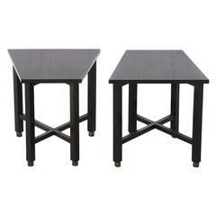 Edward Wormley for Dunbar Trapezoid Table Set