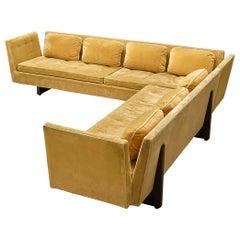 Edward Wormley for Dunbar Two Part Split-Arm Corner Sofa