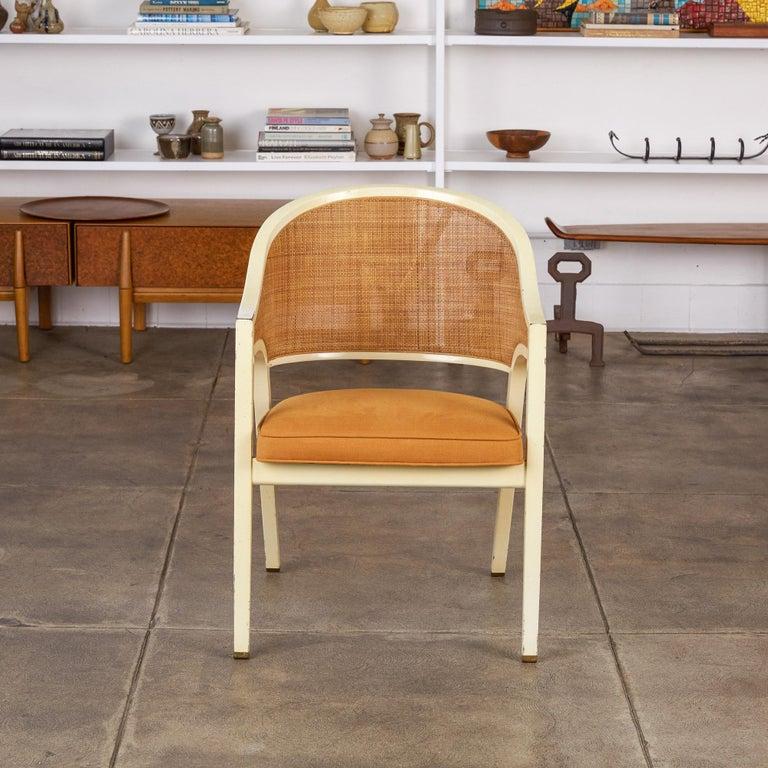 Mid-Century Modern Edward Wormley for Dunbar Y-Back Captain Chair