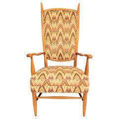 Maxwell Royal High Back Chair Midcentury