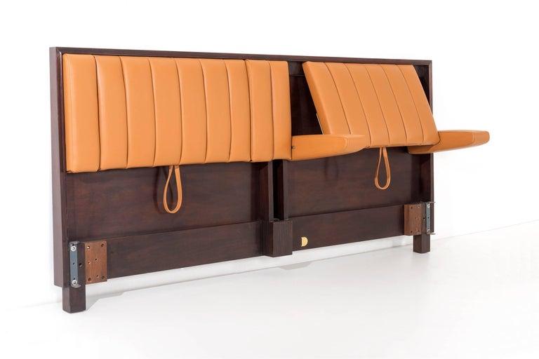 edward wormley king size headboard for sale at 1stdibs. Black Bedroom Furniture Sets. Home Design Ideas