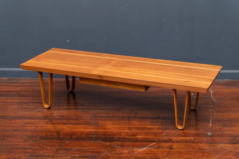 Mid-20th Century Edward Wormley Long John Bench/Coffee Table for Dunbar For Sale