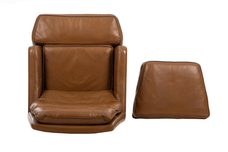 Edward Wormley Lounge and Ottoman For Sale 4