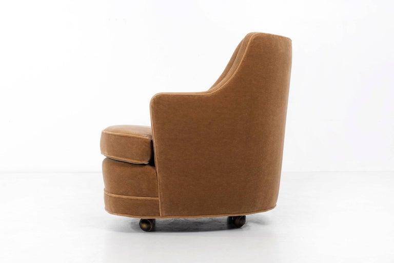 Mid-Century Modern Edward Wormley Lounge Chair for Dunbar For Sale