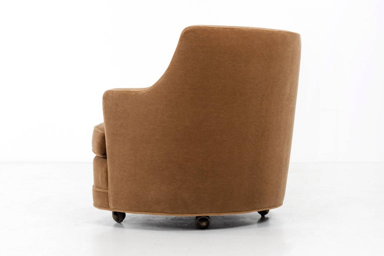 American Edward Wormley Lounge Chair for Dunbar For Sale