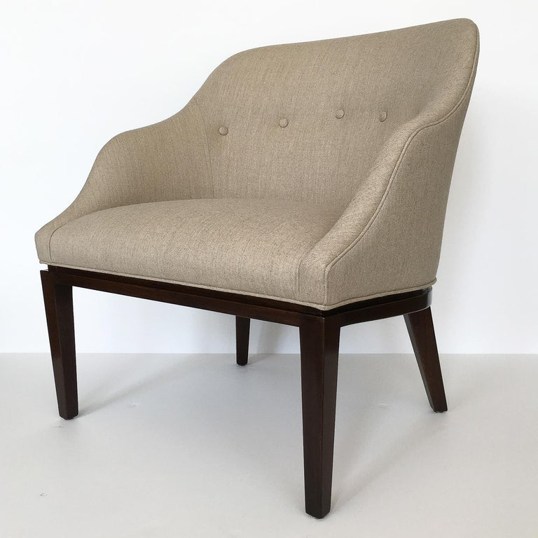 Edward Wormley Lounge Chair for Dunbar In Excellent Condition For Sale In Chicago, IL