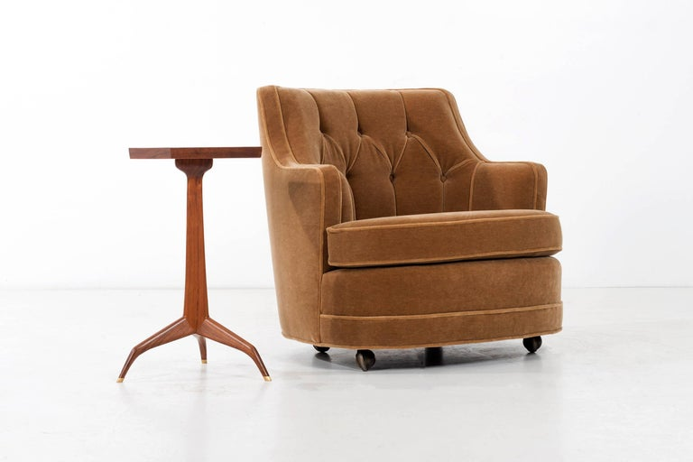 Mid-20th Century Edward Wormley Lounge Chair for Dunbar For Sale