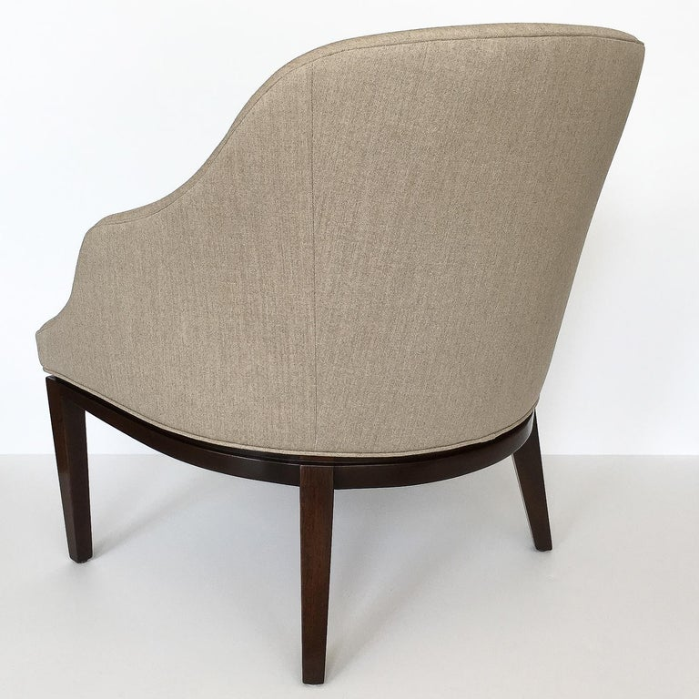 Edward Wormley Lounge Chair for Dunbar For Sale 1