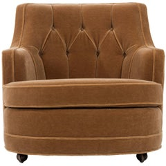 Edward Wormley Lounge Chair for Dunbar
