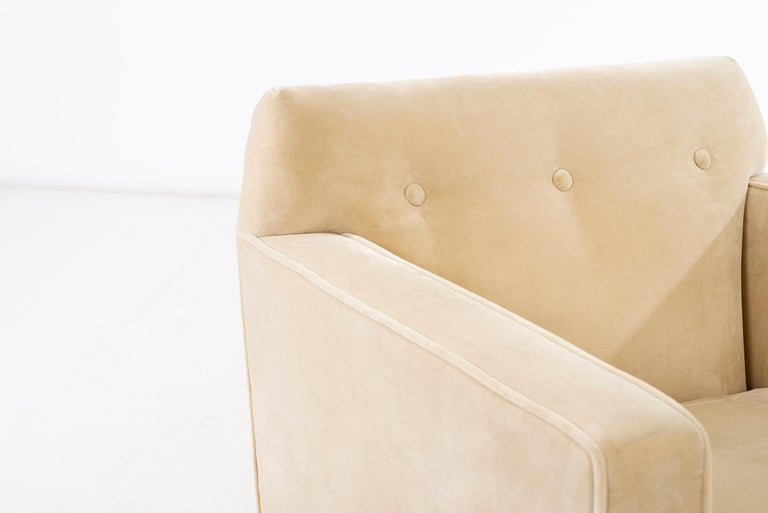 Edward Wormley Pair of Lounge Chairs For Sale 3