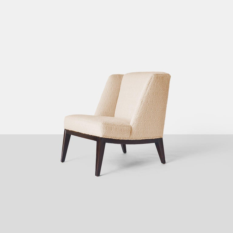 Mid-Century Modern Edward Wormley Lounge Chairs For Sale