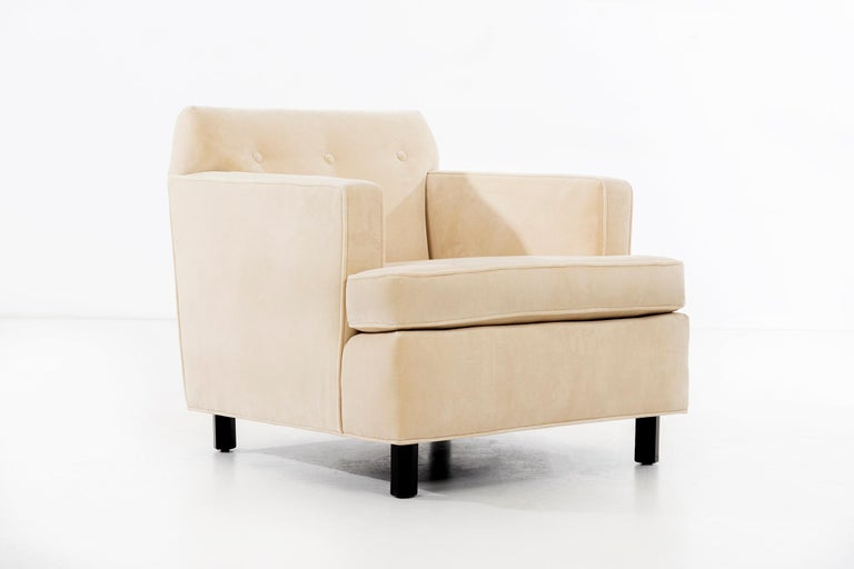 American Edward Wormley Pair of Lounge Chairs For Sale