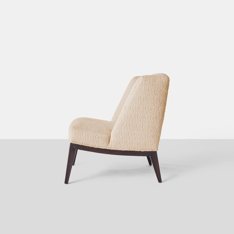 Lacquered Edward Wormley Lounge Chairs For Sale