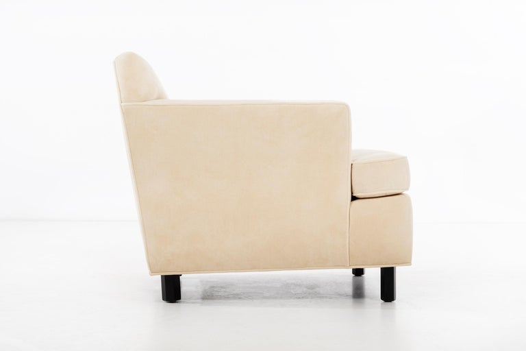 Mid-20th Century Edward Wormley Pair of Lounge Chairs For Sale