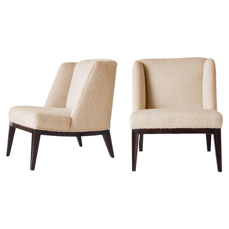 Edward Wormley Lounge Chairs For Sale