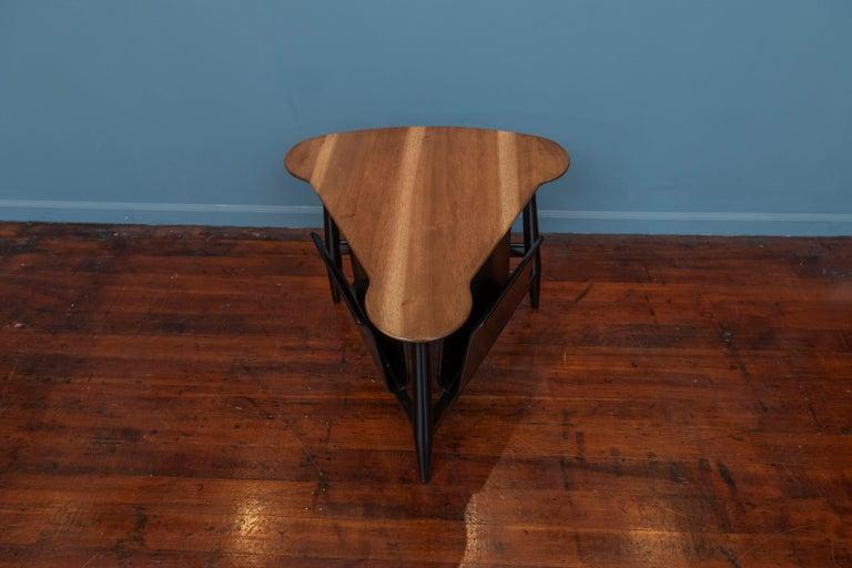 Mid-Century Modern Edward Wormley Magazine Table for Dunbar For Sale