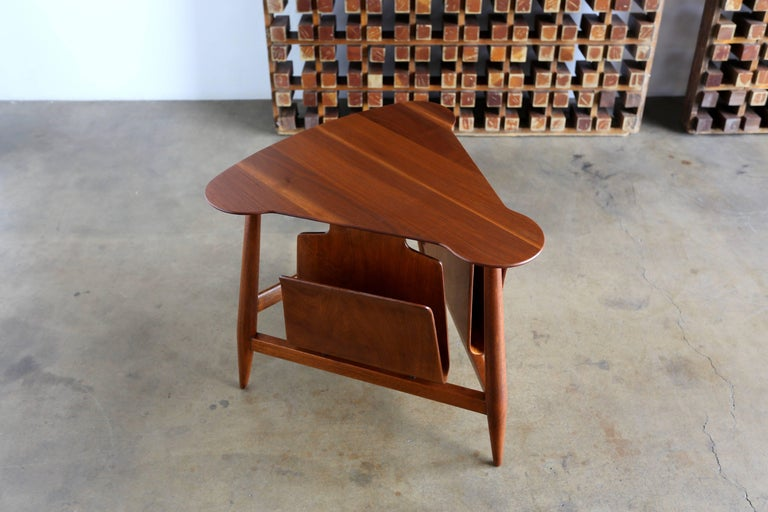 20th Century Edward Wormley Magazine Table Model 5313 For Sale