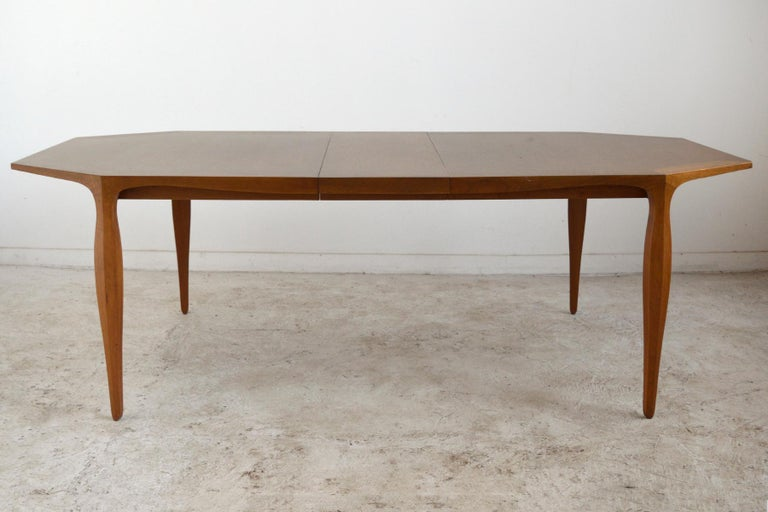 Bleached Edward Wormley Model 5900 Dining Table by Dunbar For Sale