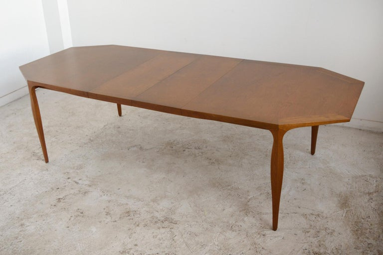 Mid-20th Century Edward Wormley Model 5900 Dining Table by Dunbar For Sale