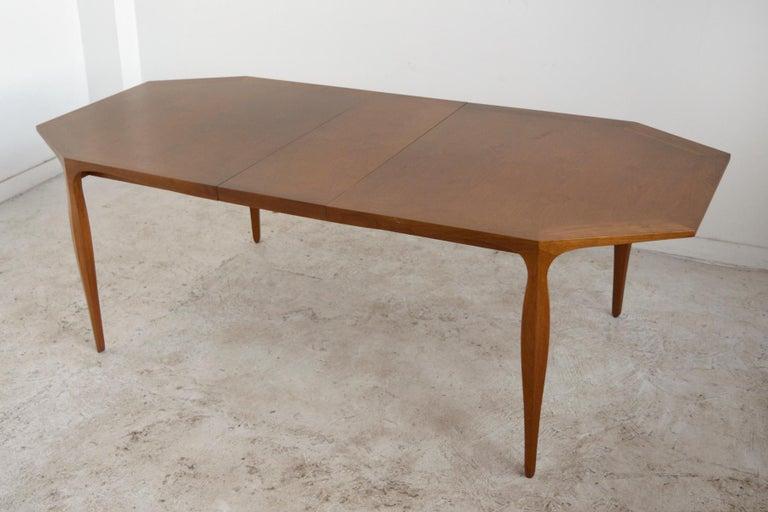 Walnut Edward Wormley Model 5900 Dining Table by Dunbar For Sale