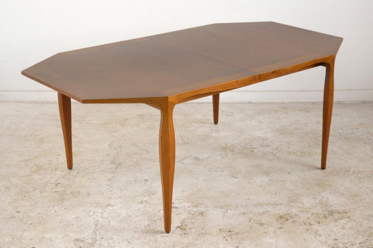 Edward Wormley Model 5900 Dining Table by Dunbar For Sale 1