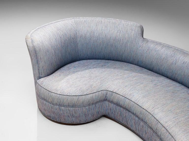 Fabric Edward Wormley 'Oasis' Sofa Model 5200 For Sale