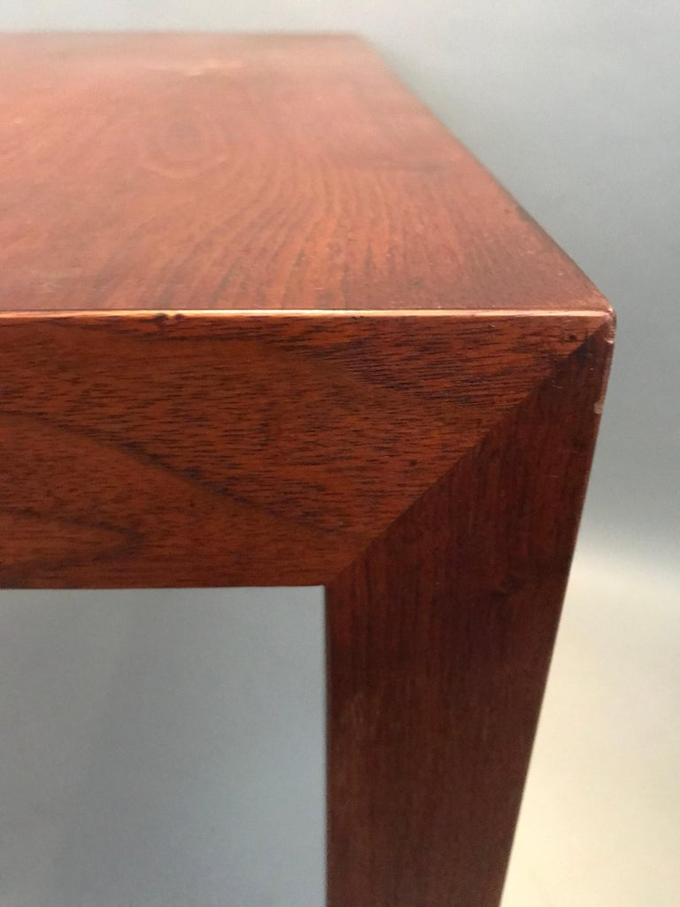 Mid-Century Modern Edward Wormley Parsons Style Side or End Table for Dunbar For Sale