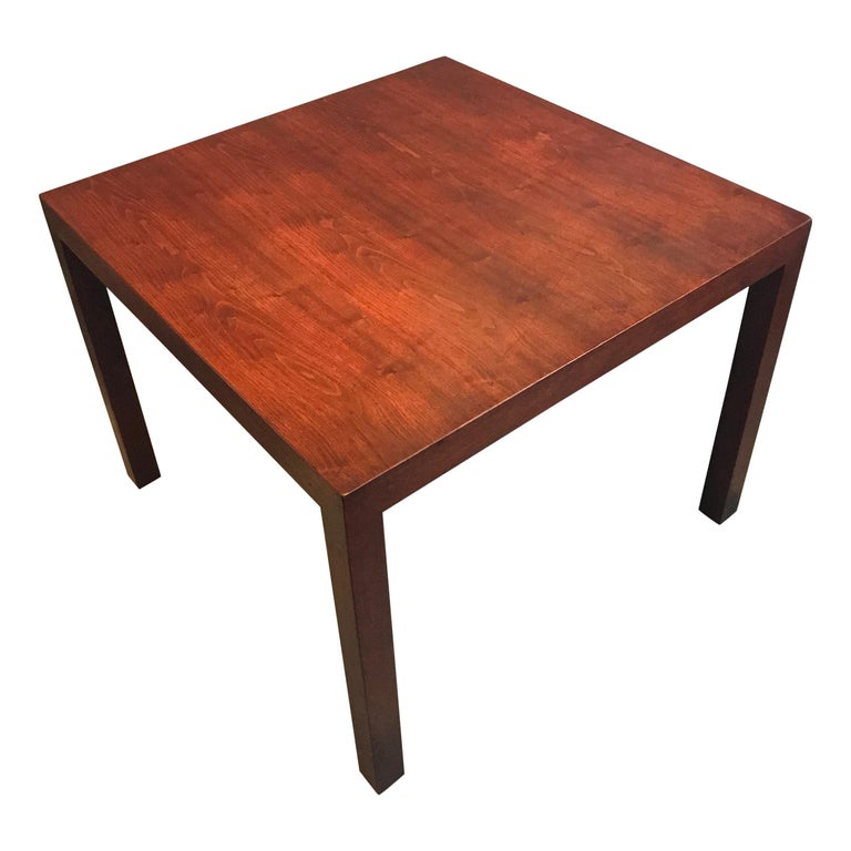 Edward Wormley Parsons Style Side or End Table for Dunbar For Sale