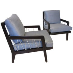 Edward Wormley Presedent Lounge Chairs for Drexel