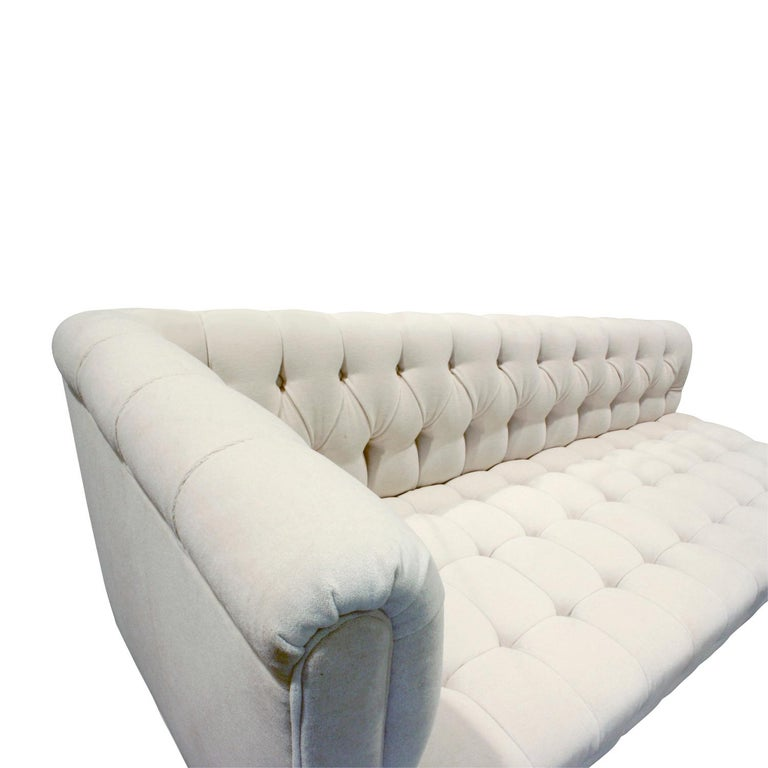 Hand-Crafted Edward Wormley Rare Tufted