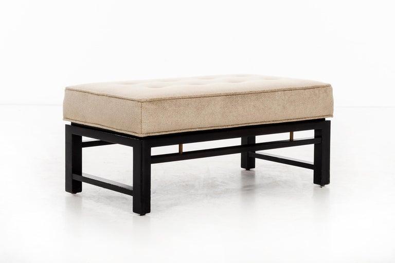 Mid-Century Modern Edward Wormley Short Bench For Sale