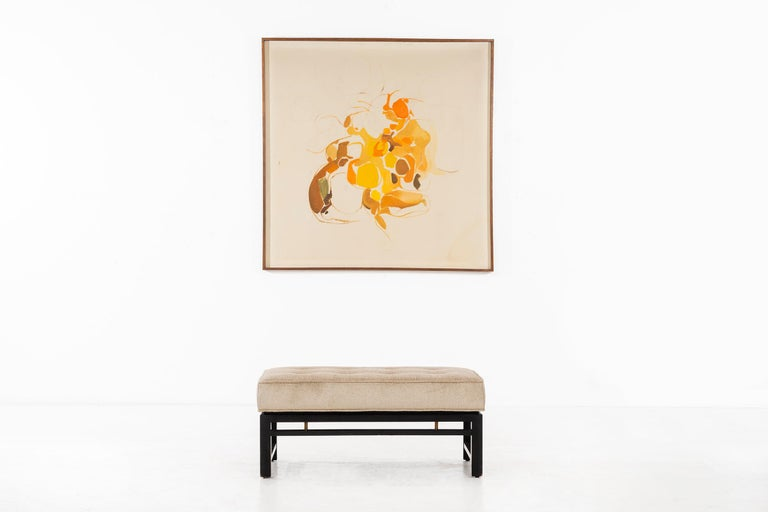 Edward Wormley Short Bench For Sale 2