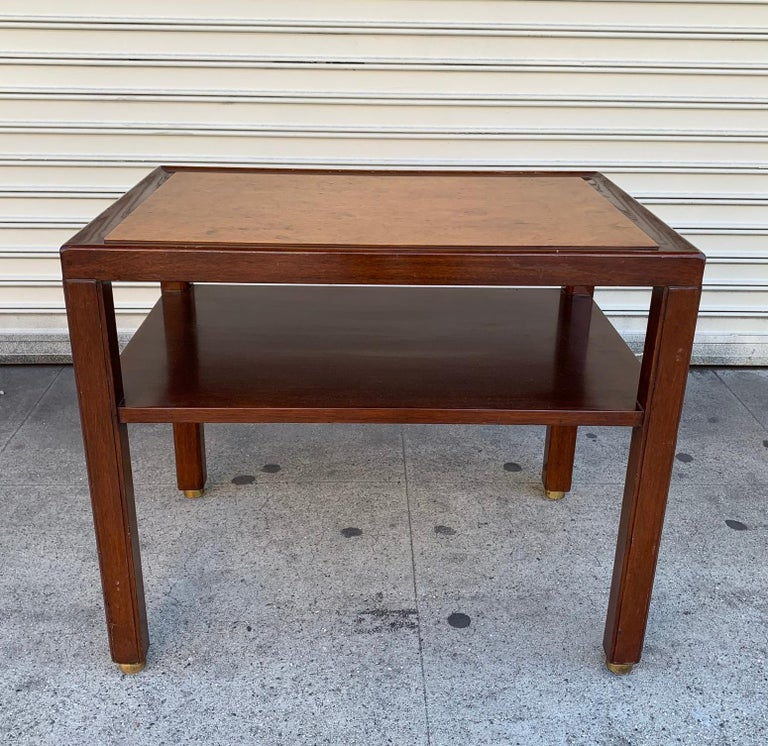 Edward Wormley Side Table for Dunbar/Franz Wagner Associates In Good Condition For Sale In Los Angeles, CA
