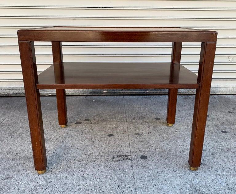 20th Century Edward Wormley Side Table for Dunbar/Franz Wagner Associates For Sale