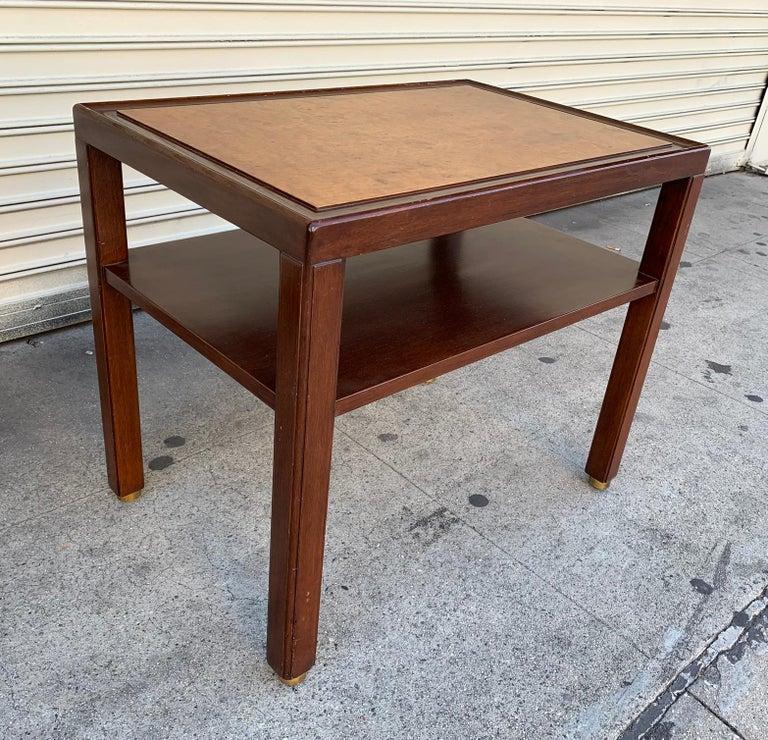 Brass Edward Wormley Side Table for Dunbar/Franz Wagner Associates For Sale