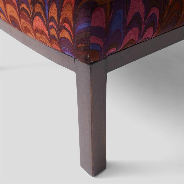 Mahogany Edward Wormley Slipper Chairs for Dunbar For Sale