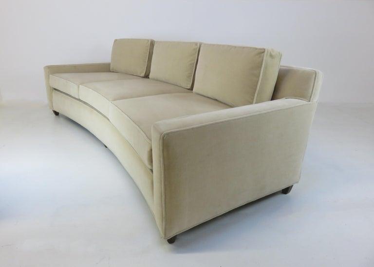 Mohair Edward Wormley Sofa For Sale