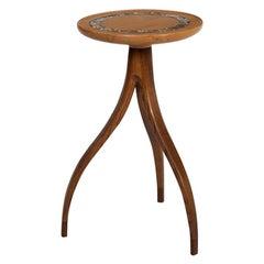 Edward Wormley Style Splayed Leg Drink Table
