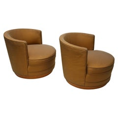 Edward Wormley Swivel Chairs