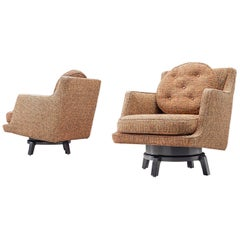 Edward Wormley Swivel Chairs Model '5609'