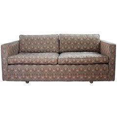 Edward Wormley Two-Seat Midcentury Tuxedo Sofa
