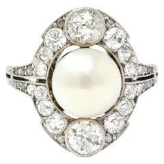 Platinum Cluster Rings