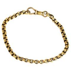 Edwardian 9 Carat God Chain Bracelet