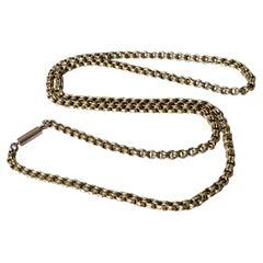 Edwardian 9 Carat Gold Necklace