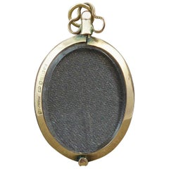 Edwardian Antique Gold Picture Locket, Hallmarked Chester, 1904