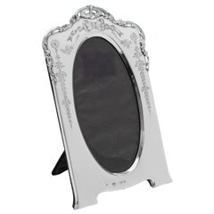 Edwardian Antique Sterling Silver Photograph Frame from 1905