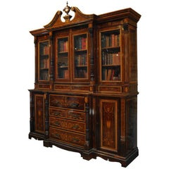 Edwardian Bookcase and Secretaire