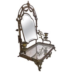 Edwardian circa 1910 Dressing-Table / Vanity Mirror