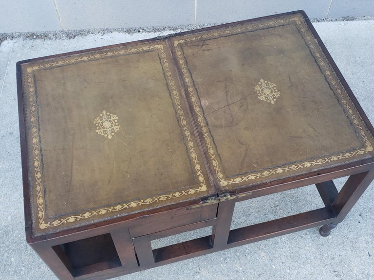 George III Edwardian Convertible Library Steps For Sale
